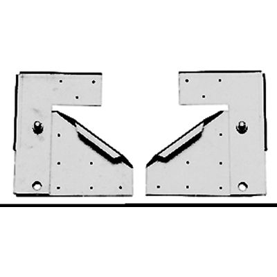 "Fantech Hinge Kit 5ACC01HK, For 24""-36"" Fans, Galvanized Steel"