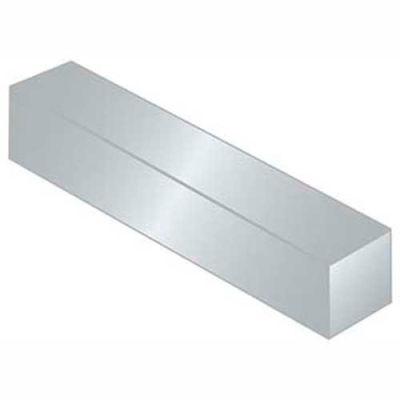 """Keystock - 1/2"""" x 1/2"""" x 1 Ft - 6061-T6 Aluminum - Plain - Bilateral - QQ-A-225/8"""" - Pkg Qty 2"""
