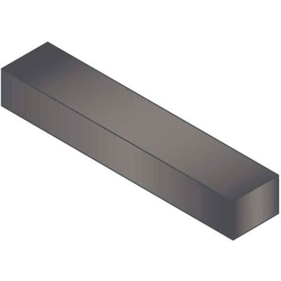 "Machine Key - 1/4"" x 3/8"" x 2"" - Form B - Carbon Steel - Plain - Undersize - ANSI B17.1 - Pkg Qty 25"
