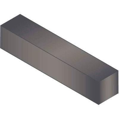 "Machine Key - 5/8"" x 5/8"" x 3-3/8"" - Form B - Carbon Steel - Plain - Undersize - ANSI B17.1 - Pkg Qty 5"