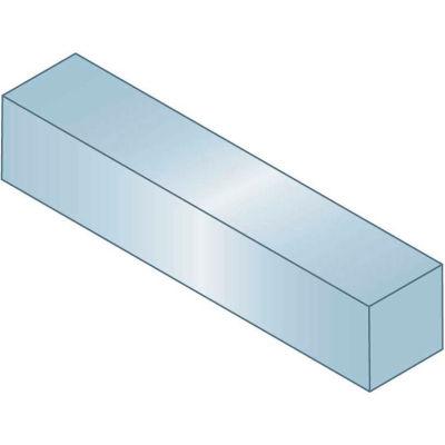 "Machine Key - 5/32"" x 5/32"" x 1-1/2"" - Form B - Steel - Zinc Clear Trivalent - Oversize - Pkg Qty 100"