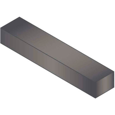 "Machine Key - 1/4"" x 3/8"" x 1-7/8"" - Form B - 1045 Steel - Plain - Undersize - ANSI B17.1 - Pkg Qty 25"