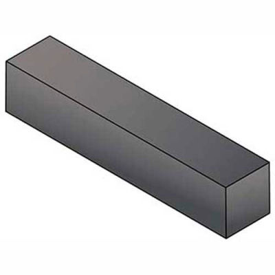 "Keystock - 1/4"" x 1/4"" x 1 Ft - 316 Stainless Steel - Plain - Undersize - ASTM A484 - Pkg Qty 2"