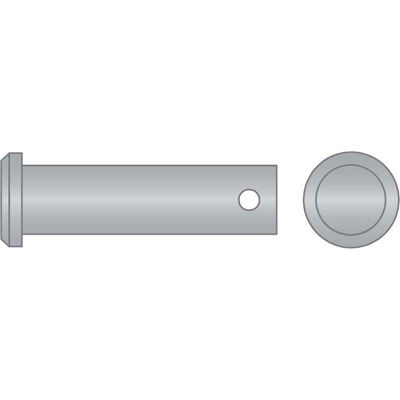 """1/2"""" x 1-3/4"""" Clevis Pin - 316 Stainless Steel - USA  - Pkg Qty 5"""