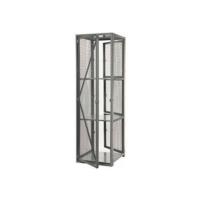 "Stor-More® Dispatcher Locker Single Front Door & Full Height Rear Panel 36""W x 24""D x 79-1/2""H"