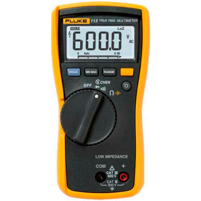 Fluke 113 Utility Multimeter True RMS Designed for basic electrical tests
