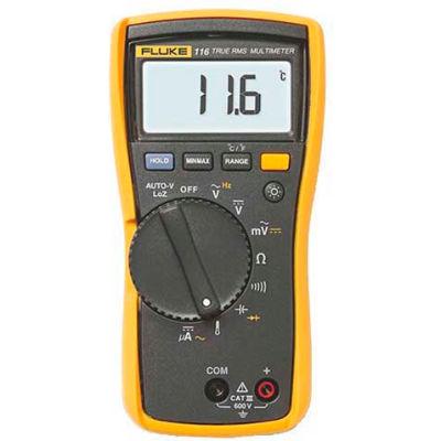 Fluke 116 HVAC True RMS Multimeter w/Temperature & Microamps