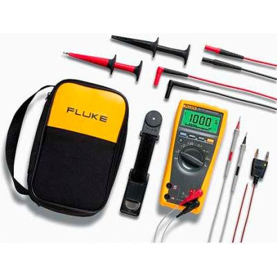 Fluke 179/EDA-II Electronics Digital Multimeter & Deluxe Accessory Combo Kit