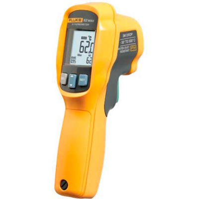 Fluke 62 MAX IP54 Infrared Thermometer, -30C to 500C & 101 Distance to Spot Size Ratio
