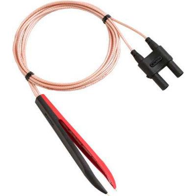Fluke TL2X4W-TWZ 2X4-Wire Ohms Tweezers Test Leads, Complies W/En/IEC 61010-031