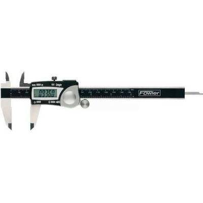 Fowler 54-100-004-2 0-4''/100MM Stainless Steel Digital Caliper W/ Data Output