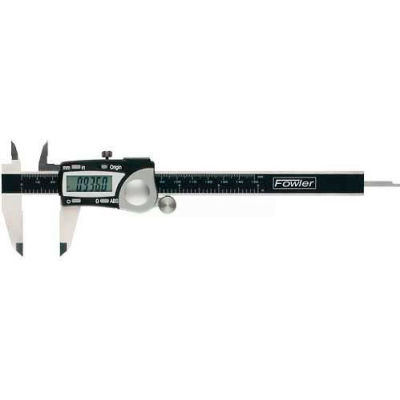 Fowler 54-100-008-2 0-8''/200MM Stainless Steel Digital Caliper W/ Data Output