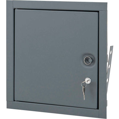 Elmdor Fire Rated, Uninsulated Prime Coat Cyinder Lock, 18x18