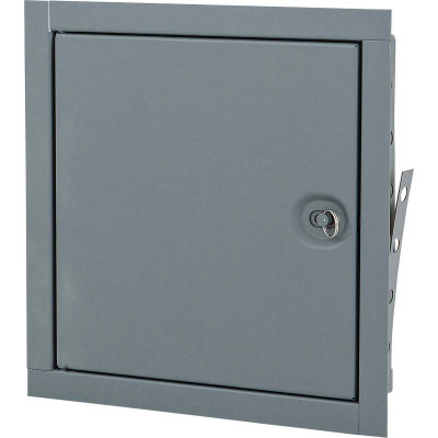 Elmdor Fire Rated, Uninsulated Prime Coat Standard Latch, 12x18