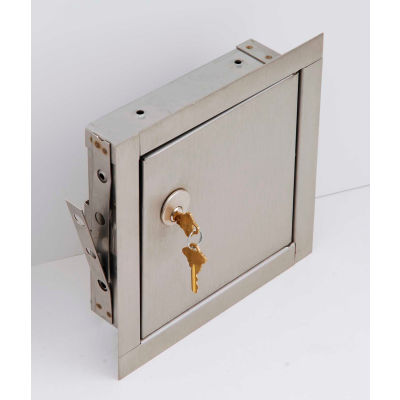 Elmdor Fire Rated, Insulated Prime Coat Mortise Lock Prep, 24x24