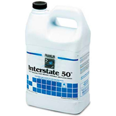 Franklin Interstate 50™ Ultra High Speed Floor Finish, Gallon Bottle, 4 Bottles - F195022