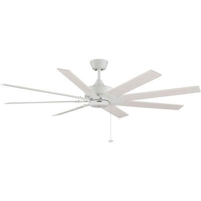 Fanimation FP7910MW Levon Fan, 6942 CFM, 113 RPM, Matte White