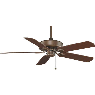Fanimation TF910AZ Edgewood Wet Location Ceiling Fan, 5461 CFM, 183 RPM, Aged Bronze