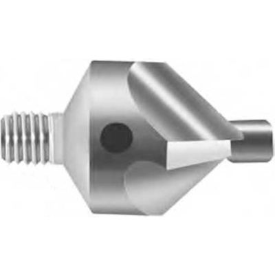 "Severance Chatter Free® Stop Countersink Cutter 90 Degree 1/2"" Diameter #40 Pilot Hole"