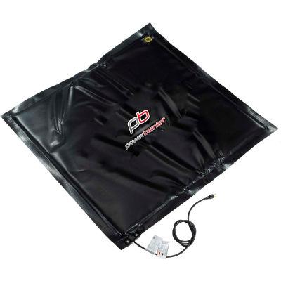 Powerblanket® Multi-Duty Flat Heating Blanket, 100°F Fixed Temp, 12'Lx12'W, 120V