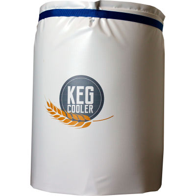 Powerblanket 1/2 Barrel Beer Keg Insulated Ice Pack Cooling Blanket (Includes 12 Ice Packs)