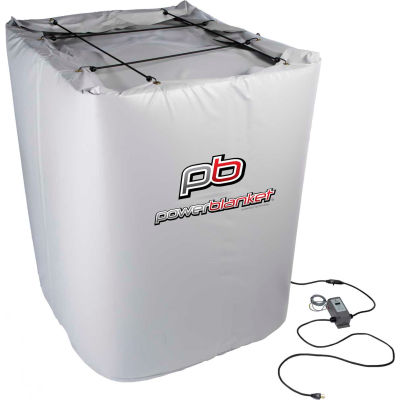 Powerblanket® Insulated Tote Heater For 330 Gallon Tote, Up To 145°F, 120V