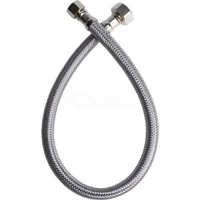 Fluidmaster B1F20 Faucet Supply 3/8 In. Compression X 1/2 In. Compression X 20 In. - Braided SS