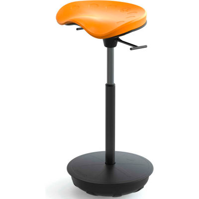 Safco® Active Sit-Stand Pivot Stool - Citrus - Focal™ Series