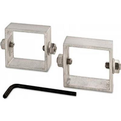 FlexPost® Sign Brackets, Silver, Set of 2, A-SB