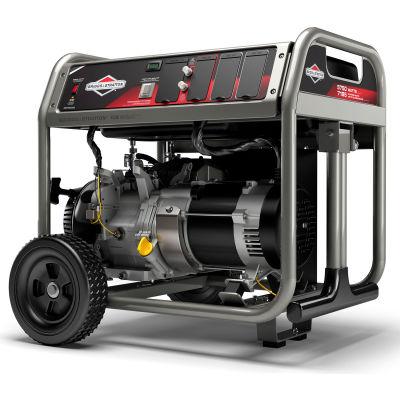 Briggs & Stratton® 30708, 5750 Watts, Portable Generator, Gasoline, Recoil Start, 120/240V