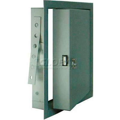 "Fire-Rated & Insulated Metal Access Panel, White, 8""W x 8""H"
