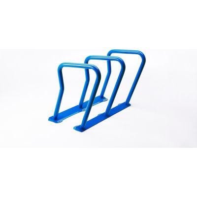 Surf 6 Bike Capacity Steel Bike Rack, Blue
