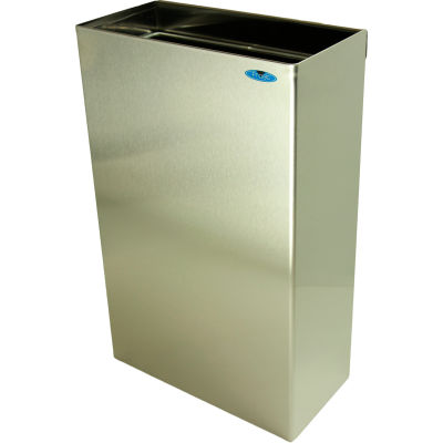 Frost Wall Mounted Stainless Steel Waste Receptacle, 11 Gallon, 326