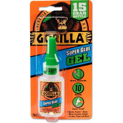 Gorilla Glue® Instant-Bond Super Glue - 15 g Bottle - Clear