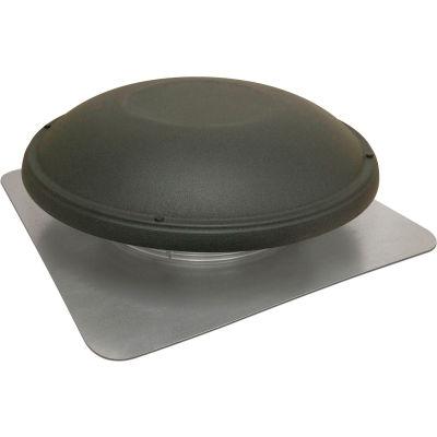 Master Flow® Power Roof Fan,1500 CFM, Shinglematch Weatherwood