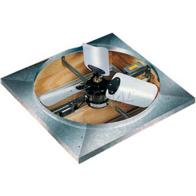 "Master Flow® Standard Whole House Fan 24"" Blade Direct Drive 4,500 CFM"