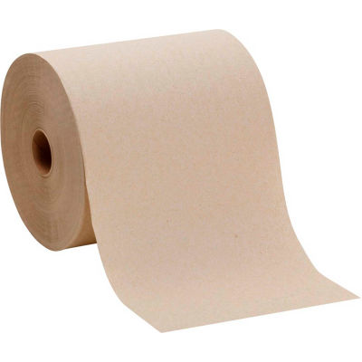 GP Envision Brown High Capacity Roll Paper Towel, 800'/Roll, 6 Rolls/Case - 26301