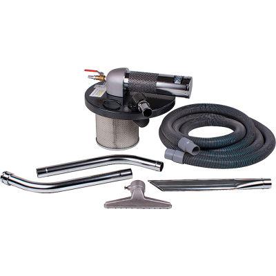 "Guardair 30 Gallon B Pneumatic Vacuum Generating Head w/ 2"" Inlet & Attachment Kit - N301BK"