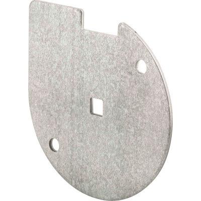 Prime-Line GD 52199 Inside Lock Bar Disk, Galvanized Steel