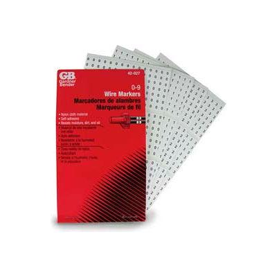 Gardner Bender 42-027 Wire Marker Booklet, 0-9