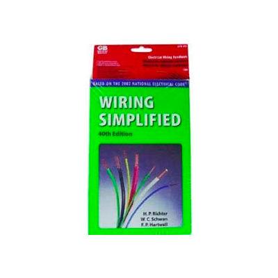 Gardner Bender ERB-WS Wiring Simplified Electrical Reference Book