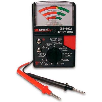 Gardner Bender GBT-500A Battery Tester For 1.5v-22.5v Cells