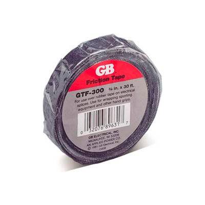 "Gardner Bender GTF600N Friction Tape, 3/4"" X 60', Black"
