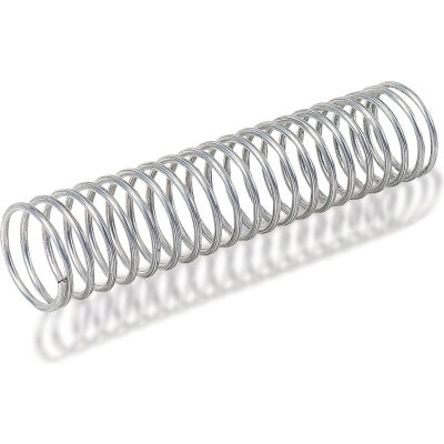 Compression Spring - 0.323 O.D. x .039 Wire Dia. - MBHD - Zinc - USA - Pkg of 10 - Gardner 36140G