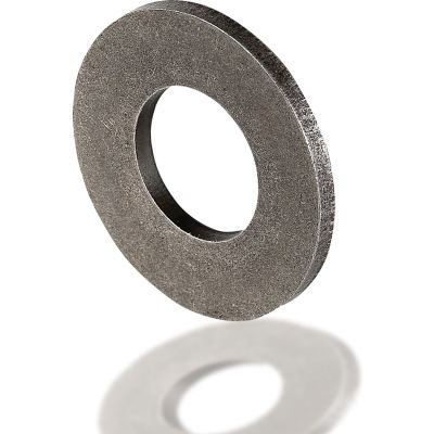 "Belleville Disc Spring - 2.75"" O.D. x 1.375"" I.D. x 0.132"" Thick x 0.196"" OAH - 1074 Carbon Steel"