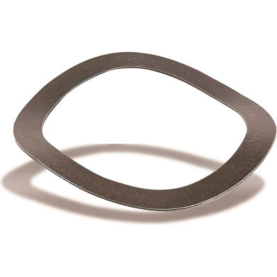 "Wave Spring - Carbon Steel - 0.367"" O.D. - 0.265"" I.D. - 0.006"" Thick - 0.03"" H - USA - Pkg of 25"