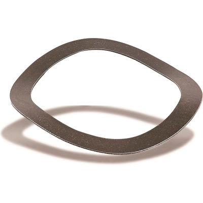 "Wave Spring - Carbon Steel - 3.917"" O.D. - 3.047"" I.D. - 0.042"" Thick - 0.258"" H - USA - Pkg of 1"