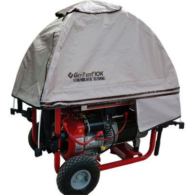 GenTent 10k Running Generator Cover - Universal Kit - Compatible w/ 3000w-10000w Portable Generators