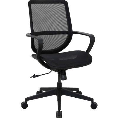 Interion® All Mesh Task Chair - Black