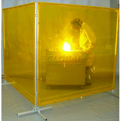 Goff's Welding Screen - 6'W x 6'H - Yellow